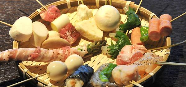 蕎麦ダイニング空楽 串 揚