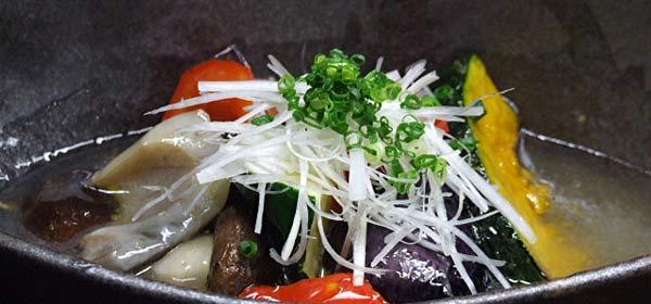 蕎麦ダイニング空楽 ごろり温野菜